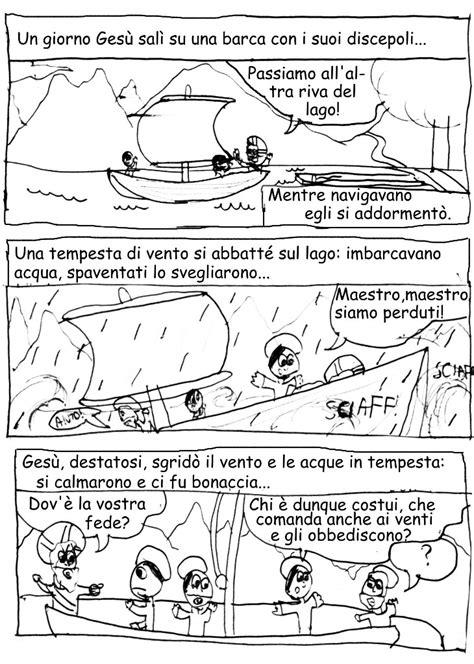 la tempesta sedata il vangelo a fumetti www parrocchiasanluca org