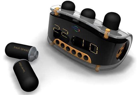 Hybrid Alarm Clock Concept by Osim Nioi Alarm Clock Concept Uses Smells Instead Of