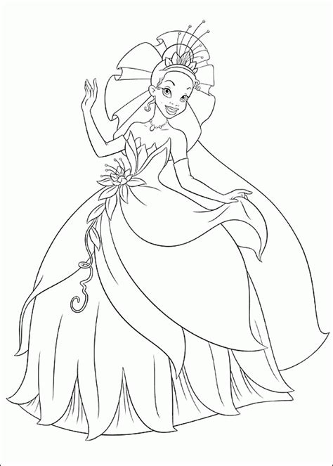 coloring pages of princess and the frog princess and the frog coloring pages coloringpagesabc