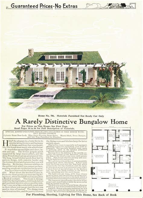 1918 Bungalow Cottage With A Full Width Pergola Gordon Gordon Tine House Plans