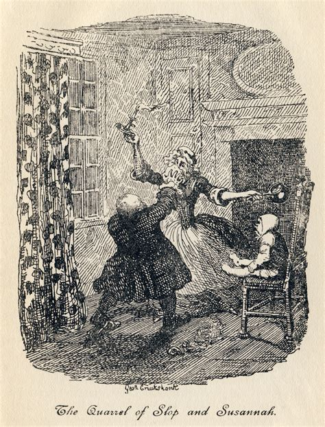 The Quarrel file george cruikshank tristram shandy plate vii the