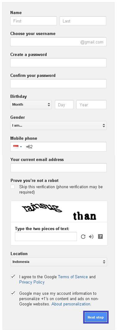 sulit membuat akun gmail net cara membuat email dan akun gmail gratis