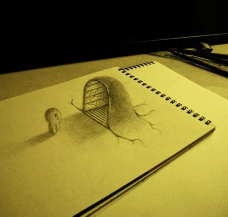 How To Make A 3d Drawing On Paper - 3d drawings