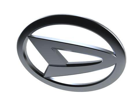 daihatsu logo 3d cad model library grabcad