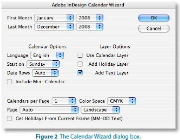 how to make a calendar in indesign create an indesign calendar with calendar template and scripts