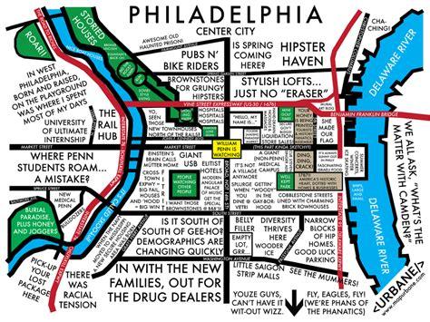philadelphia neighborhood map philadelphia neighborhood culture map urbane map store