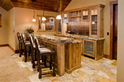 Rustic Bar Top Ideas by Log Cabin Decor Bars Studio Design Gallery Best Design