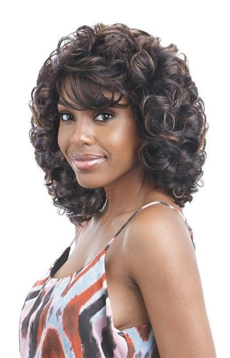 Wig Axela Curly 3 vixa by fifth avenue collection synthetic curly wig ebay