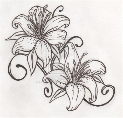 tattoo lily flower designs 25 best ideas about tiger tattoos on