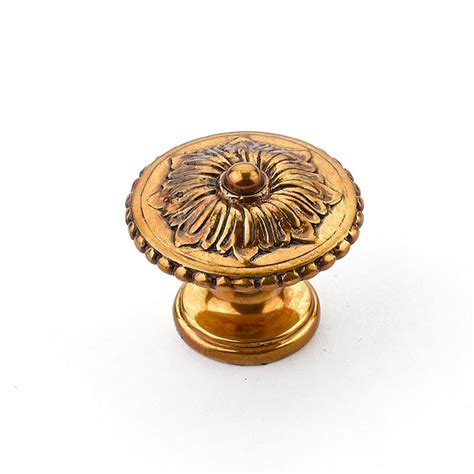 schaub cabinet pulls and knobs schaub and company sonata 1 1 4 inch diameter brass