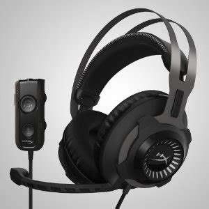 Headset Hyperx Revolver S hyperx cloud revolver s dolby surround 7 1 gaming headset co uk computers accessories