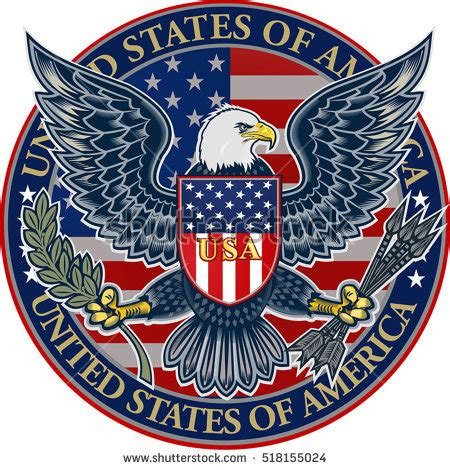 The Bald Eagle American Symbols bald eagle american flag stock images royalty free images
