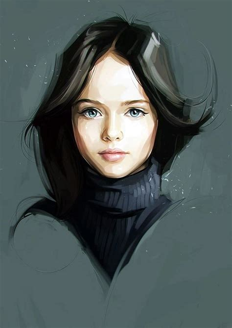 Asian Home Decor Ideas by 40 Spectacular Digital Painting Portraits