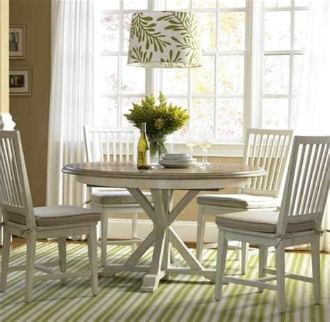 coastal dining room sets coastal white oak dining room set zin home