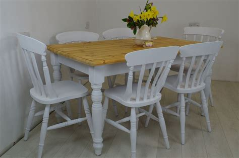 how to paint dining room chairs pine table and 6 beech chairs painted vintage antique