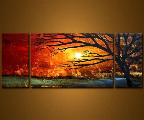 Landscape Pictures On Canvas Landscape Painting Multi Panel Canvas Landscape 3547