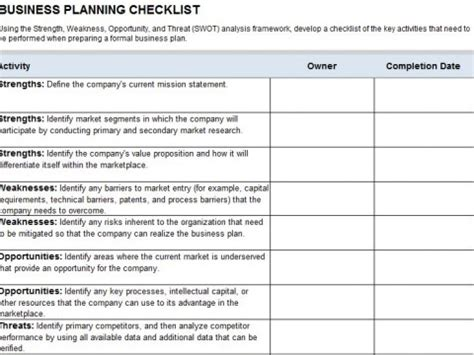 disaster recovery plan checklist template business continuity plan checklist template