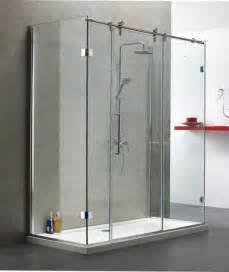 Shower Doors For Bath Sliding Shower Door Design Bathroom Decorating Ideas
