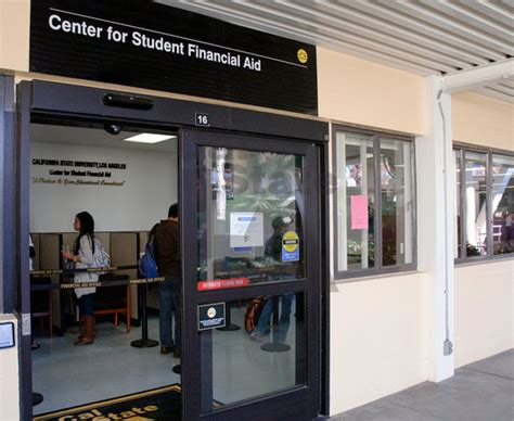 Csula Financial Aid Office student support resources california state
