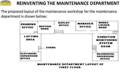 maintenance workshop layout plans my project