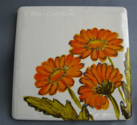 painting on ceramic tile craft paint fusion meets ceramic billie s craft room