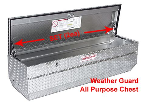 weather guard all purpose chest tool job jo box repl gas