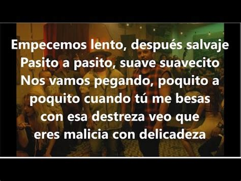 despacito youtube lyrics letra despacito luis fonsi ft daddy yankee lyrics