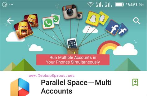 parallel space multi accounts app apk latest version