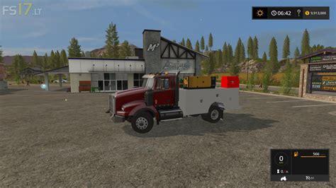 kw box truck kenworth service truck v 1 0 fs17 mods