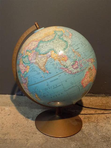 light up globe vintage vintage replogle globes n y light up globe quot the political