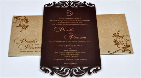 wedding invitation printers in chennai avasar cards customized invitation cards