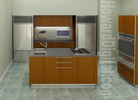 Interior Kitchen by Kitchen Interior Howard Digital
