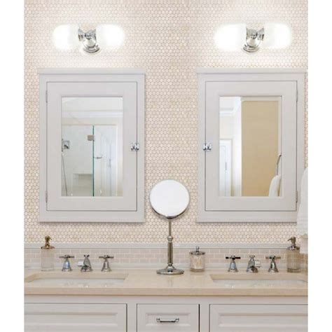 bathroom mirror tiles penny round mother of pearl wall mirror tile