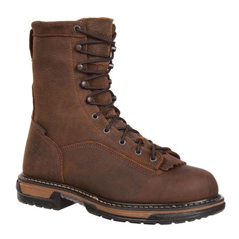 waterproof work boots rocky ironclad waterproof work boots style fq0005698