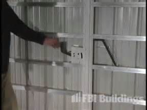 Red Barn Shed Introducing The Stepsaver Sliding Door Latch Youtube