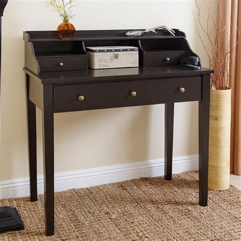 secretary desk espresso abbyson living secretary desk in espresso black md 150222 es