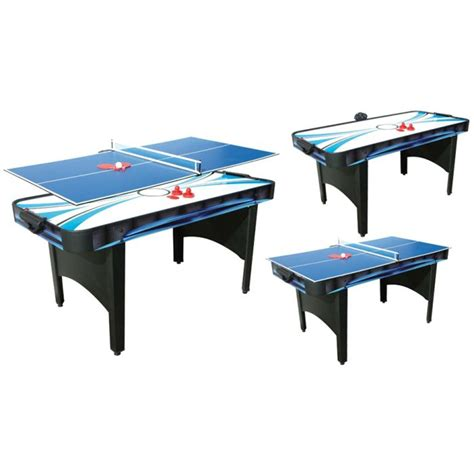 Air Hockey Table by Typhoon 2 In 1 Air Hockey Table Tennis Table Liberty
