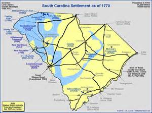 map of colonial carolina the royal colony of south carolina the towns and