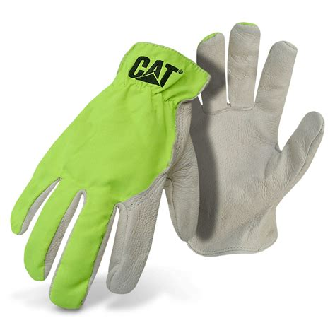 Cat Gloves high visibility pigskin leather driver cat gloves
