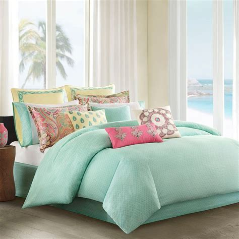Nicole Miller Duvet Http Www Bebarang Com Cool And Calm Mint Green Bedding