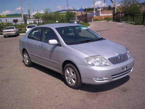 Toyota Corolla Won T Start Used 2003 Toyota Corolla Photos 1800cc Gasoline Ff