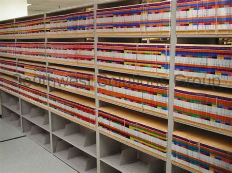 Medical Chart Storage Shelving   Healthcare Filling