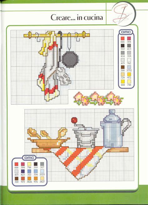 punto croce cucina schemi gratis schema punto croce utensili cucina 02