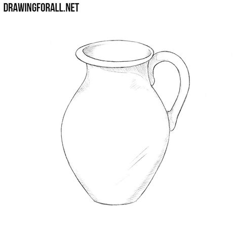 How To Draw A Drawingforall by How To Draw A Jug Drawingforall Net