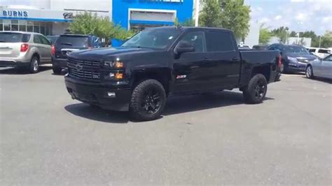 chevrolet silverado crew cab midnight edition ltz