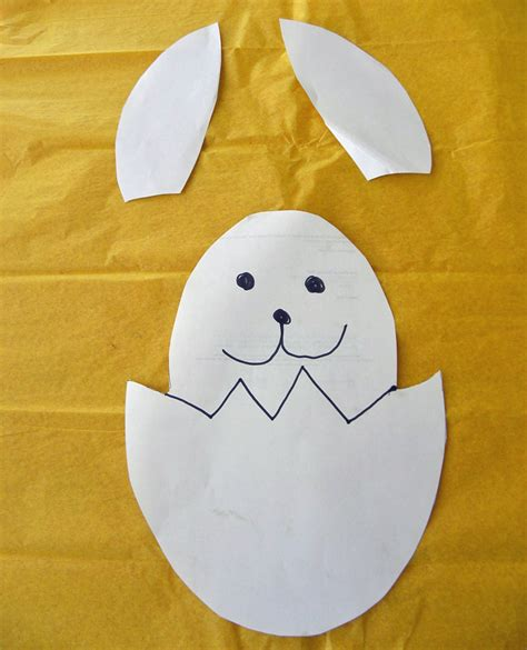 bunny cake template easter bunny in an egg cake the kid s review