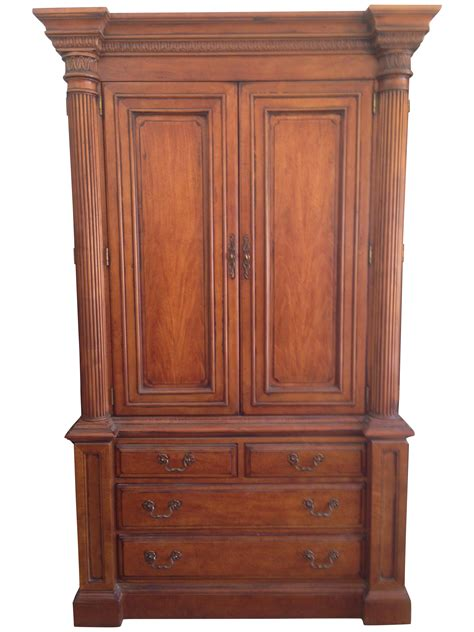 hickory white armoire hickory white quot hton roads quot armoire chairish
