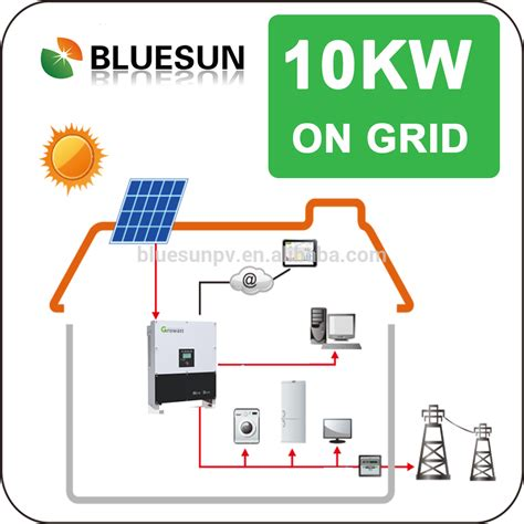 10kw grid tie solar wiring diagram grid with solar panel