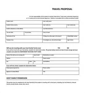 Free Travel Templates by Sle Travel Template 9 Free Documents In Pdf