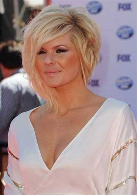 short hair with one side longer asymmetric bob hairstyles 2014 2015 bob hairstyles